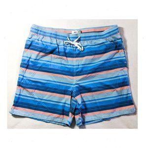 OLD NAVY Striped Swim Trunks 3X